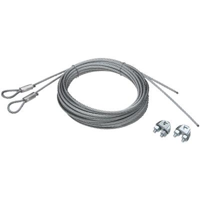National 5/32 In. Dia. x 14 Ft. L. Commercial Garage Door Heavy-Duty Extension Cable (2 Count)