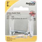 National Steel 2 In. Safety Gate Hook & Eye Bolt Image 2