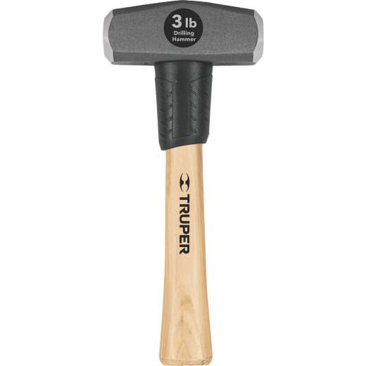 Do it Best 3 Lb. Steel Drilling Hammer with Hickory Handle