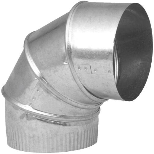 Imperial 24 Ga. 10 In. Galvanized Adjustable Elbow