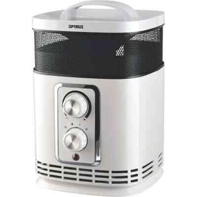 Optimus 1500-Watt 120-Volt Oscillating Tower Ceramic Space Heater