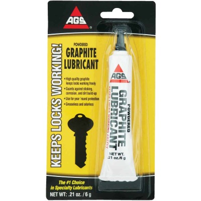 AGS 0.21 Oz. Tube Powdered Graphite Dry Lubricant
