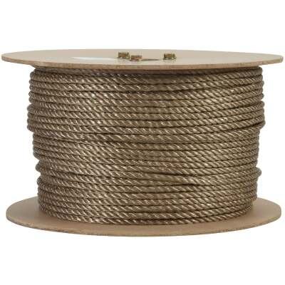 Do it 1/4 In. x 600 Ft. Brown Twisted Unmanila Polypropylene Rope