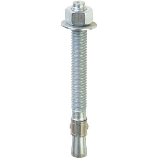 Red Head 5/8 In. x 5 In. Zinc Wedge Anchor Bolt