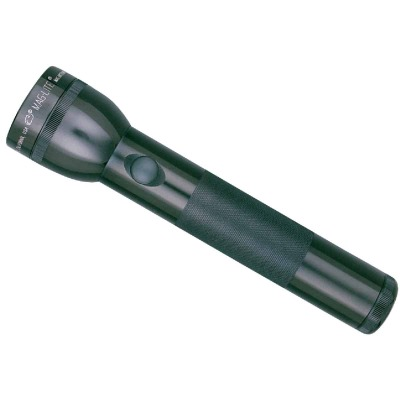 Maglite 27 Lm. Xenon 2D Flashlight, Black